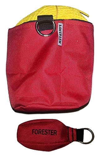 Forester 150 Foot Arborist 15 Ounce Throw Line Kit with Red Storage Bag