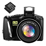 Fotocamera Digitale Macchina Fotografica 48MP 2.7K Fotocamera Digitale Compatta Full HD Fo...