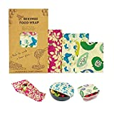 House of Queens BeeSafe Bees Wax Eco-Friendly Food Wraps -Set of 3