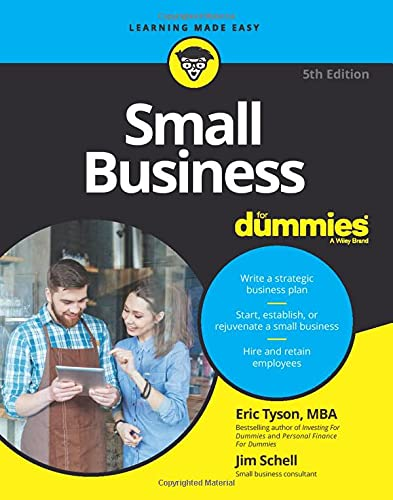 Compare Textbook Prices for Small Business For Dummies 5 Edition ISBN 0001119490553 by Tyson, Eric,Schell, Jim