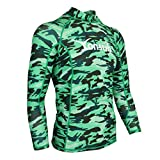 Herren Damen Langarm Rashguard UPF 50+ Bademode Schwimmshirt Surfen Tauchen Shirt Tops - XXXL
