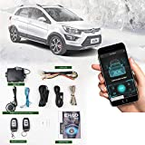 Remote Start for Cars PKE Keyless Entry Car Door Lock System Universal Auto Remote Engine Starter kit for Car Remote Key or Phone APP Control