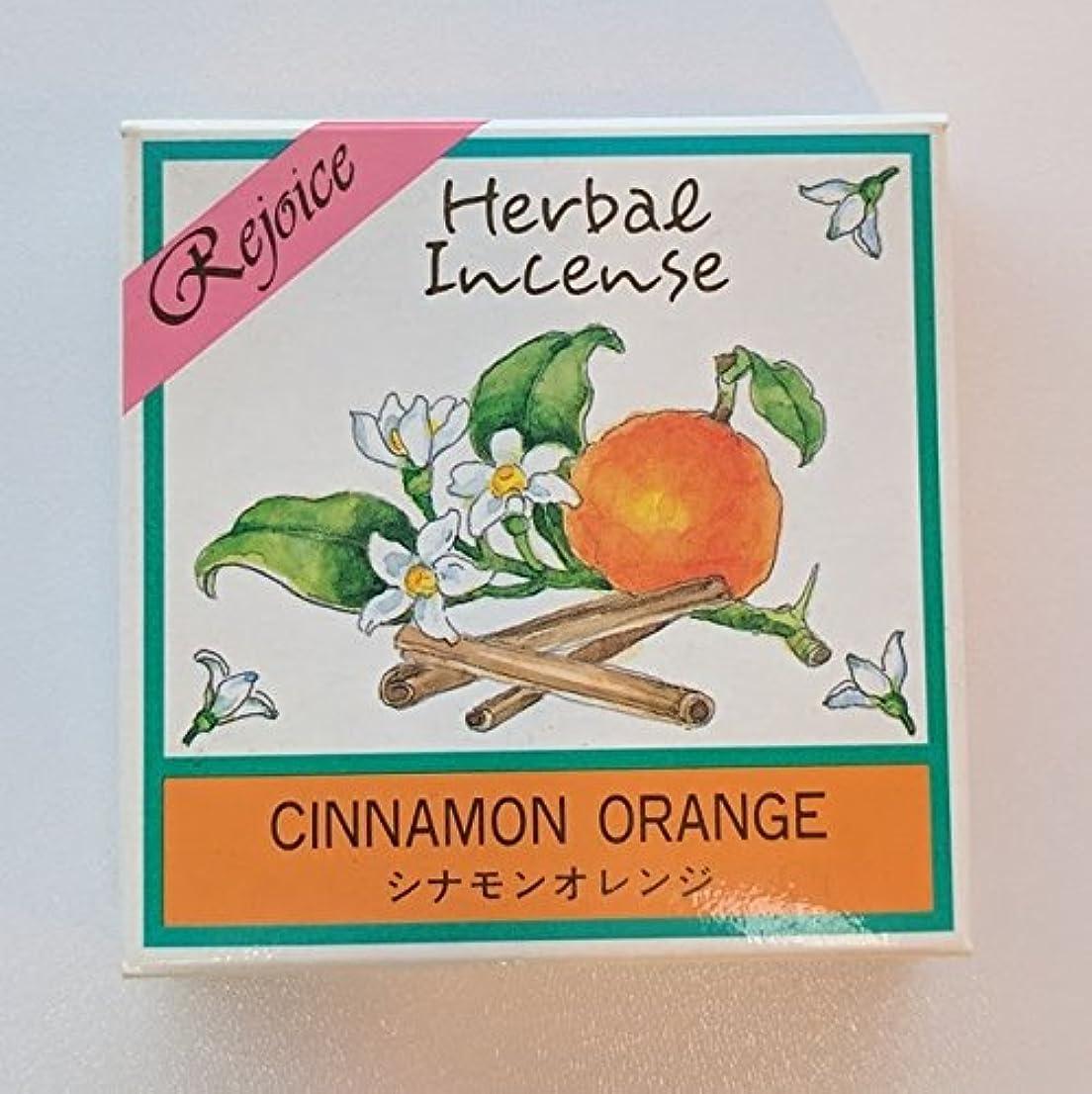 刺激する贅沢な歴史的ハーバル インセンスコーン?シナモンオレンジ(20個入り)