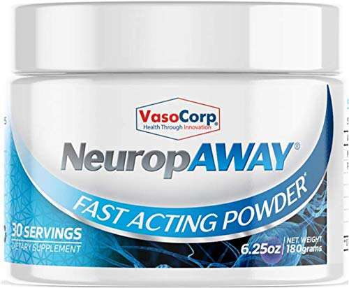 VasoCorp Nerve Support Powder No Capsules or Fillers use for Burning Feet, Tingling, Numbness, Pain in Legs