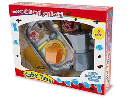 Teorema 63702 - Set Caffettiera giocattolo con Vassoio Ed Accessori