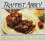 Trappist Abbey Monastery Fruit Cake - Moist & Rich Christmas Cake with Candied Fruits & Nuts (1 lb)