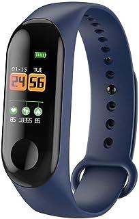 vbncvbfghfgh Smart Band Reloj Pulsera Rastreador de Ejercicios Podómetro Monitor de Ritmo cardíaco Pulsera Impermeable