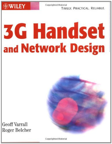 Price comparison product image 3G Handset and Network Design