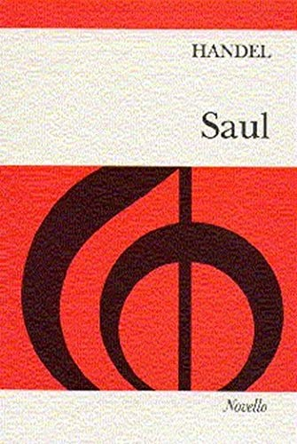 Handel: Saul. Partitions pour SATB, Accompagnement Piano