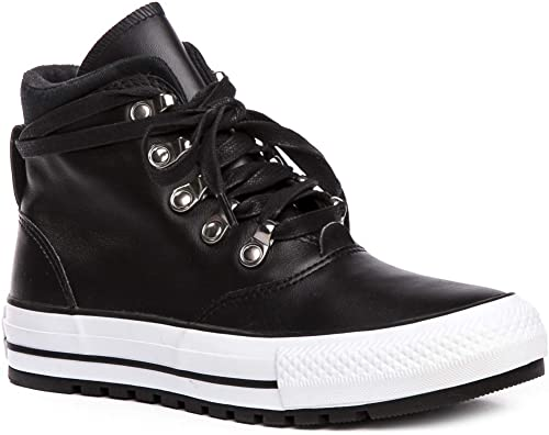 Converse Chuck Taylor All Star Ember démarrage Smooth Smooth Smooth Leather 557916C Chaussures femme Cuir paniers  Noir  36.5 EU 14c