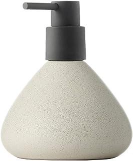 Soap dispenser السيراميك مستحلب الاستغناء الصحافة زجاجة فارغة فندق شامبو دش هلام اليد صابون سعة كبيرة Soap
