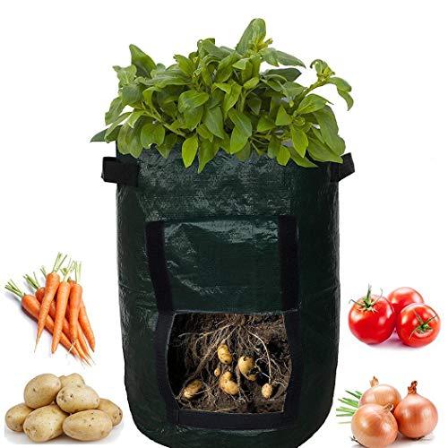 wumedy Taro Potato Planter Bag Plant Flower Grass Grow Pot Home Garden Garden Tool Holders
