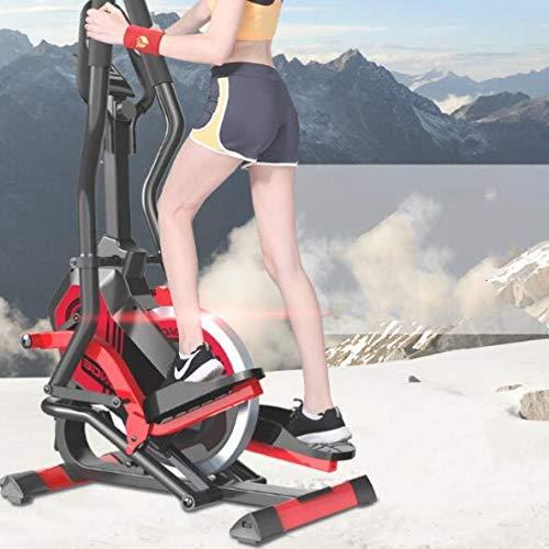 HJPA Ellipsentrainer,Stationäre Fahrrad-Heimtrainer Für Heimgymnastik Crosstrainer Ellipsentrainer Magnetisches Ellipsentrainer,Fitness-Fettreduzierungsgeräte