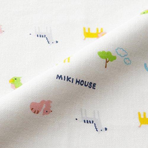 【ミキハウス】ガーゼハンカチセット46-8246-952男の子女の子キッズベビー-白