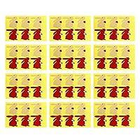 Toyvian シーリングステッカークラフト紙粘着ラベルステッカー食品保存包装カード用シールギフト用封筒ボックス