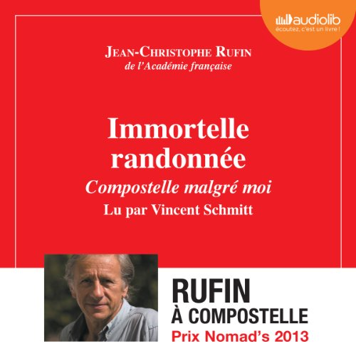 Immortelle randonnée audiobook cover art