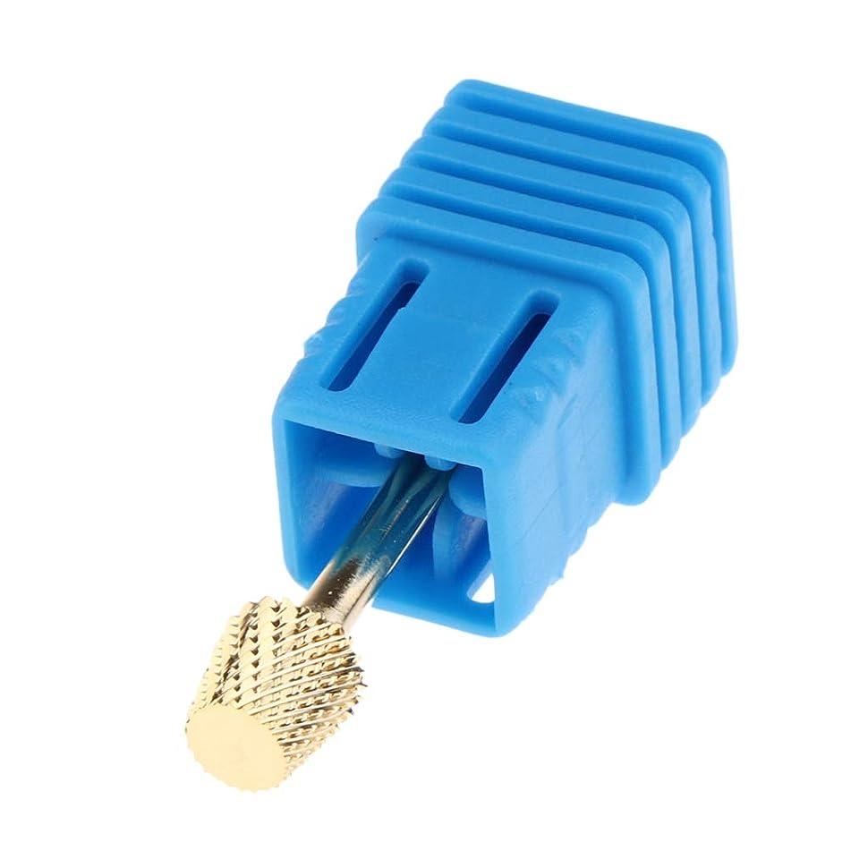 増幅する通信する侮辱gazechimp 8サイズ選択 マニキュア ネイルドリルペンビット 電気ネイルドリルビット - STZJ10 3.2cm
