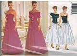 4338 Uncut Butterick Misses Sewing Pattern Formal Evening Jacket Dress Size 6 8 10 12