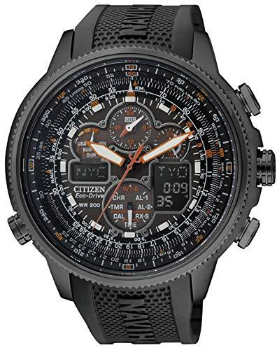 [シチズン] 腕時計 プロマスター エコ・ドライブ電波時計 クロノグラフ 特定店取扱モデル JY8035-04E メンズ ブラック