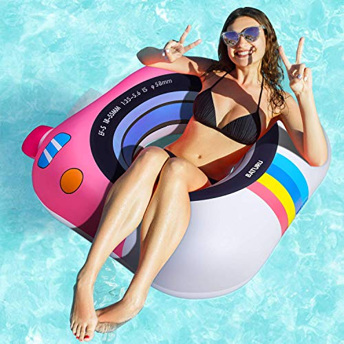 """Pool Floats Adult Size, Unique Pool Float, 37.7"""" Pool Tubes Floats for Adults for Swimming Pool"""