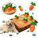 Grarg Alfombra Olfativa Perros, Snuffle Mat para Perros Juguete Perro Interactivo, Almohadilla para Olfatear Mascotas para Mascotas Fomenta Las Habilidades Naturales de Forrajeo