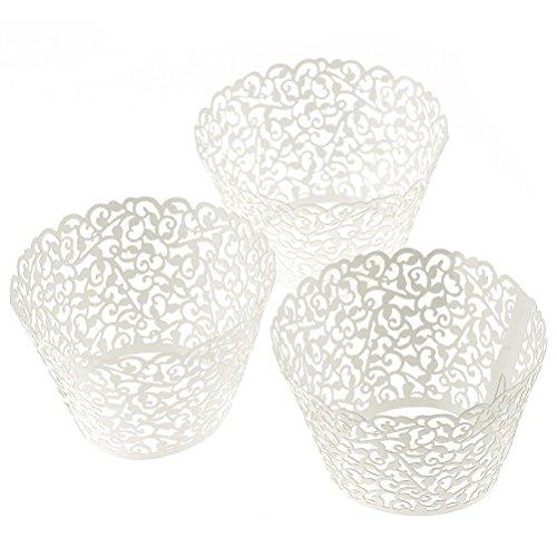 WINOMO Mini-Papierförmchen Muffin Papierförmchen Muffinförmchen Backförmchen Cupcake Wrappers Wraps Liner Muffin Fall Tabletts Backen Tasse Kuchen Decoartion -50 Stk