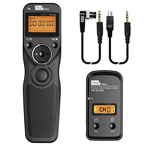 Remote Shutter Release Compatible for Nikon, Wireless Shutter Release Timer Remote...
