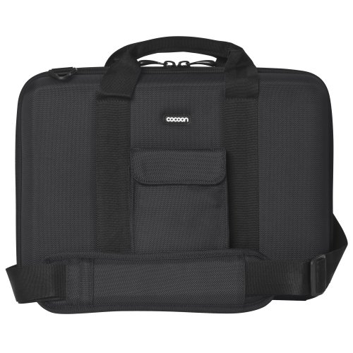 """Cocoon CLB354BY Noho 13"""" Laptop Case includes GRID-IT! Accessory Organizer (Black/Yellow)"""