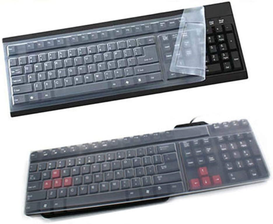 dxS8hhuo Universal Ranking TOP18 Silicone Clear Don't miss the campaign Keyboard Anti-Dust S Protector