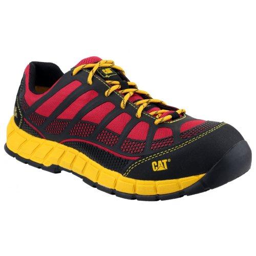 Caterpillar Herren Sicherheitsschuh/Arbeitsschuh Streamline S1P (45 EUR) (Rot)