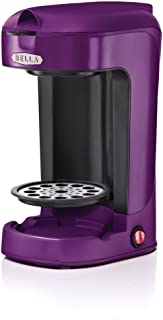 Bella BLA13783 One Scoop One Cup Coffee Maker, Purple