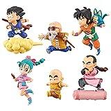 From HandMade Dragon Ball Dragon Ball Figura Chibi Figura Figura de acción 6pcs / Lot