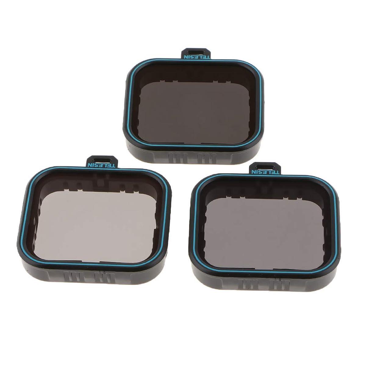 SM SunniMix for GoPro Hero 5 6 7 Black Camera Lens ND Filter Set Kit ND4 ND8 ND16 Reduce Interference Light Prevent Overexposure