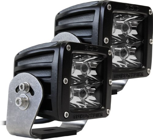 Rigid Industries 22221 Dually HD Spotlight with Black Casing