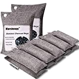 Best Charcoal Air Purifiers - Marsheepy 12 Pack Bamboo Charcoal Shoe Deodorizer Bags Review