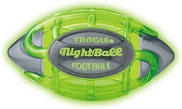 New TANGLE NIGHTBALL Football - Small(Green/Grey)