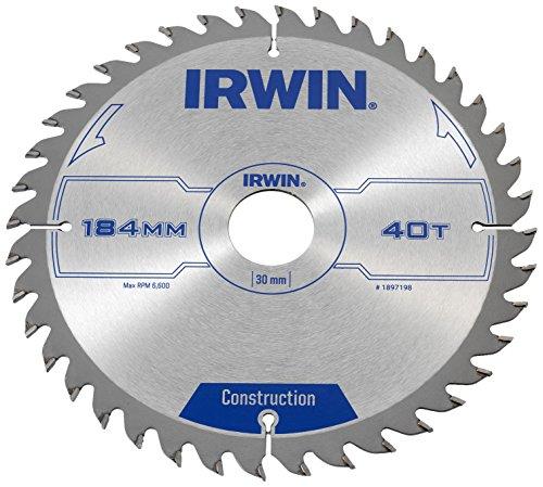 Irwin - Disco sierra circular 184mm/40t