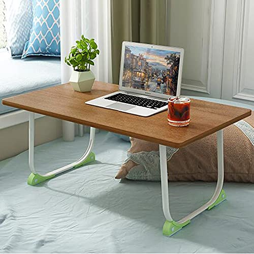 YWYW Soporte portátil para computadora portátil, Escritorio Plegable para computadora, Mesa Auxiliar móvil, sofá, Mesa Auxiliar, Adecuada para Sala de Estar, Dormitorio, Estudio, apartamento, mar