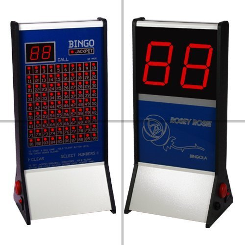 Rosey Rosie Electronic Bingo Machine - Including Free Tickets & Pens