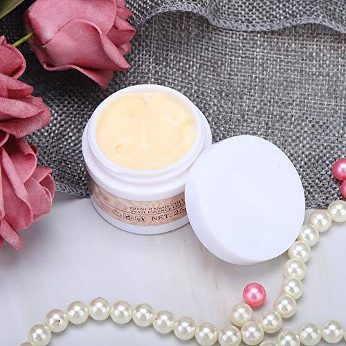 Changor Crema hidratante de Caracol, extractos de Plantas Hecho Esencia de Caracol Problemas para la Piel con látigo Hidratante Facial
