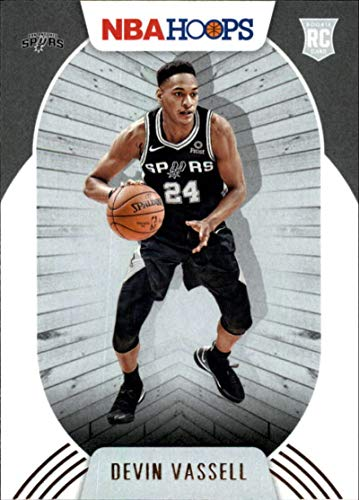 2020-21 NBA Hoops #209 Devin Vassell RC Rookie San Antonio Spurs Official Panini Basketball Trading Card (Stock Photo, NM-MT Condition)