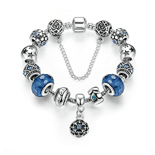 YOUFENG Jewellery   No stamp  chapado en platino     Crystal