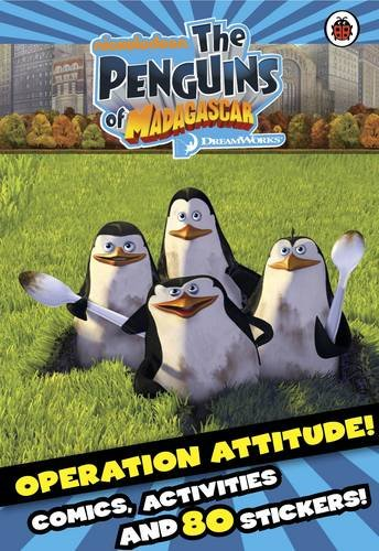 Penguins of Madagascar: Operation Attitude Comic and Activity Book with Stickers