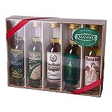 Absinth Tasting Set | Mit original Absinth von ALANDIA | Ideal zum Ausprobieren und Verschenken | 68% Vol. | (5x 0.05 l) -