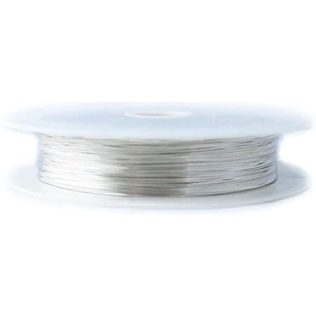 Round 1 Ounce Half Hard from Craft Wire 925 Sterling Silver Wire 12 Gauge 3 Ft