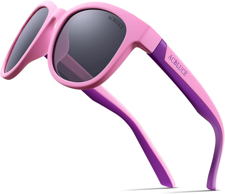Max 71% OFF ACBLUCE Kids Polarized Sports Sunglasses Frame TPEE Spasm price with Adjusta