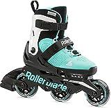 Rollerblade Microblade 3Wd 210 - Patines en línea para niña, Color Blanco