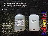 Creativum Folien1x1 Auto Tönungsfolien Montagemittel Set 30 ml Film-ON Montagekonzentrat + 30 ml Shrinking Schrumpf Gel für professionelles Scheibentönen