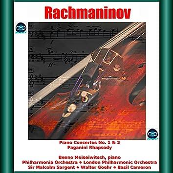 Rachmaninov: Piano Concertos No. 1 & 2, Paganini Rhapsody