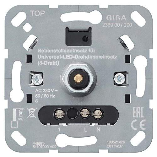 Gira LED-Dimmereinsatz 238900 3-Draht Dimmer 4010337031420